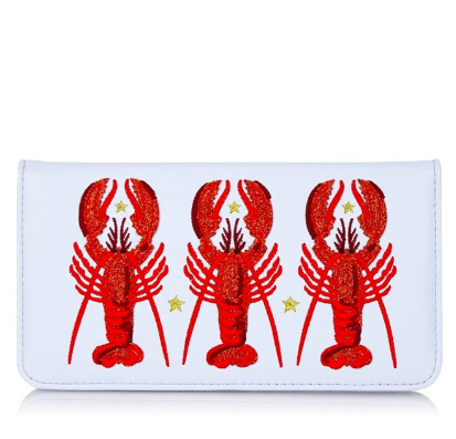 Skinny Dip lobster purse