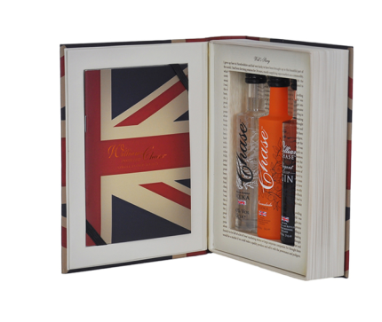 Chase Distillery union jack gift box