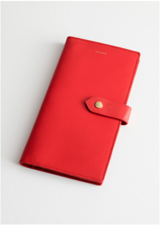 & other stories leather wallet